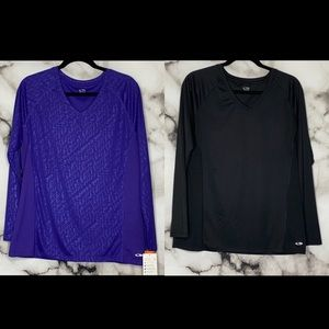 C9 by Champion Set of 2 Long Sleeve Athletic Tops